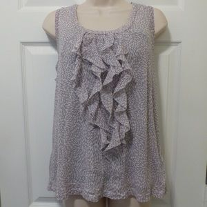 Chico's Tank Top|Gently Used|Light Weight|Gray